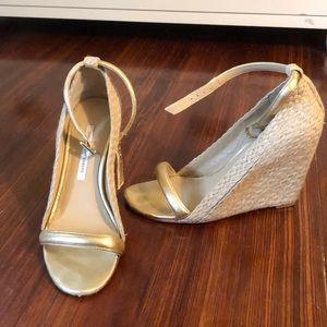 DVF wedge sandals